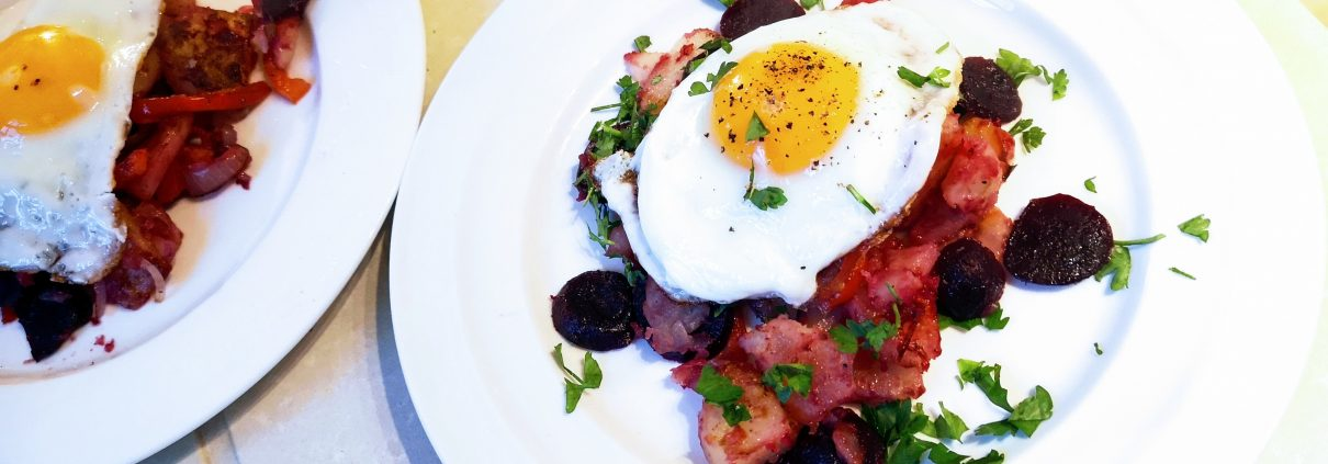Ruby Red Beet Hash